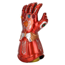 Load image into Gallery viewer, Avengers: Endgame Thanos Infinity Gauntlet Gloves Led Light Infinity War Red copper Glove Halloween Cosplay Props - bfjcosplayer