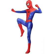 Load image into Gallery viewer, Spider-Man In de Spider-Vers Peter Benjamin Parke Cosplay Kostuum Zentai Spiderman Superhero Patroon Bodysuit Pak Jumpsuits - bfjcosplayer