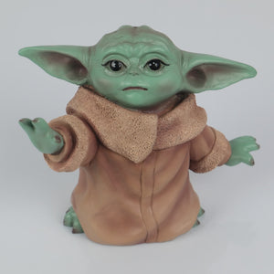 Star Wars The Mandalorian The Child Baby Yoda Action Figure Collection Toy Resin Star Wars Accessories Prop - bfjcosplayer