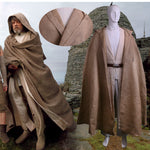 Load image into Gallery viewer, 100% Original NEW Star Wars Jedi Luke Skywalker Custom Cosplay Costume Made Full Set COS Halloween Costume Christmas - bfjcosplayer