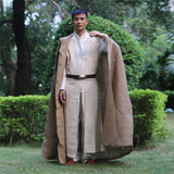 100% Original NEW Star Wars Jedi Luke Skywalker Custom Cosplay Costume Made Full Set COS Halloween Costume Christmas - bfjcosplayer