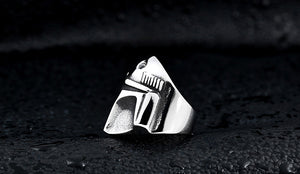 Star Wars Ring The Mandalorian cosplay men's personality fashion ring cosplay props - bfjcosplayer