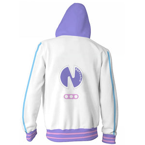 Super Neptunia RPG Sweater Hooded game Halloween cosplay costume - bfjcosplayer