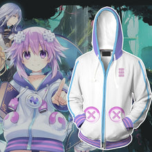 Load image into Gallery viewer, Super Neptunia RPG Sweater Hooded game Halloween cosplay costume - bfjcosplayer