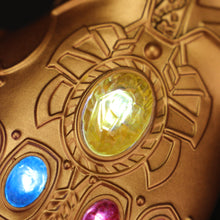 Load image into Gallery viewer, Avengers: Endgame Thanos Infinity Gauntlet Gloves Kids Edition Led Light Infinity War Glove Kids Hand Wear - bfjcosplayer