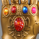 Load image into Gallery viewer, Avengers: Endgame Thanos Infinity Gauntlet Gloves Stone Movable Led Light Infinity War Glove Avengers Thanos Glove Hand Wear - bfjcosplayer