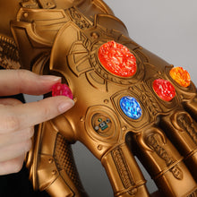 Load image into Gallery viewer, Avengers: Endgame Thanos Infinity Gauntlet Gloves Stone Movable Led Light Infinity War Glove for kids - bfjcosplayer