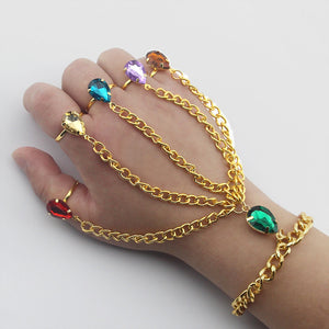 Avengers 4: endgame Thanos Infinity Gemstone Bracelet party props - bfjcosplayer