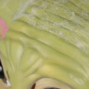 Star Wars The Mandalorian Baby Yoda Halloween Cocplsy Latex Helmet