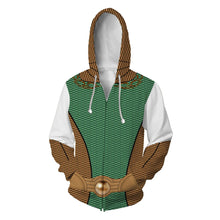 Load image into Gallery viewer, The Boys Season 1 The Deep Cosplay Hoodies Halloween Cosplay Jacket Sweater Zipper Clothing Material: polyester - bfjcosplayer