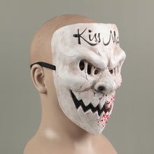 Load image into Gallery viewer, The Purge Kiss Me Scary Mask Cosplay Party Prop Full Face Creepy Horror Halloween Mask - bfjcosplayer