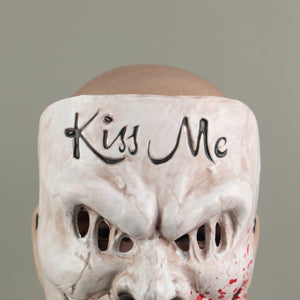 The Purge Kiss Me Scary Mask Cosplay Party Prop Full Face Creepy Horror Halloween Mask - bfjcosplayer