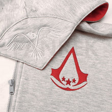 Load image into Gallery viewer, Assassin's Creed III Connor Logo Zip Up Hoodies - bfjcosplayer
