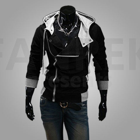 Assassin's Creed Logo Zip Up Hoodies Coat - bfjcosplayer