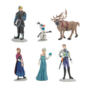 Frozen2 gifts Anna Elsa Ornaments  Figure Model Doll Toys Child Gift Cute Anna Elsa