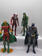 Load image into Gallery viewer, Justice League Ornaments  Figure Model Doll Toys Child Gift Cute Batman A set of 4 dolls