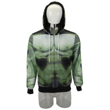 Load image into Gallery viewer, Avengers 4: endgame Hulk Cosplay 3D Anime Hoodie - bfjcosplayer