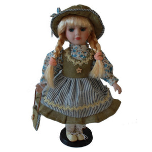 Fashion Sister Handicrafts Ornaments  Figure Model Doll Toys Child Gift Cute Princess Happy