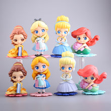 Load image into Gallery viewer, Disney Princess Anna Elsa Ornaments  Figure Model Doll Toys Child Gift Cute Alice in Wonderland