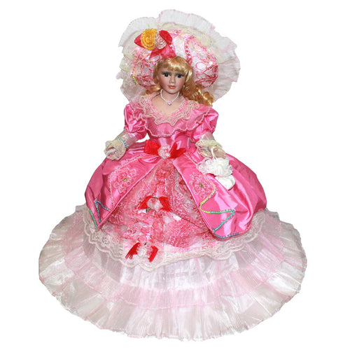 Seven colors Europe Ornaments  Figure Model Doll Toys Child Gift Cute Princess Lace Victoria