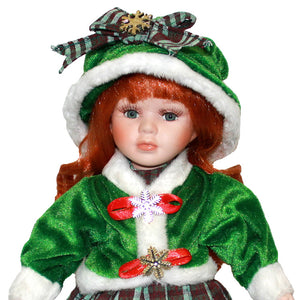 Ceramic Ornaments  Figure Model Doll Toys Child Gift Cute Princess  Handicrafts