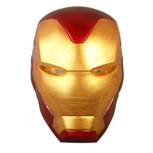 Load image into Gallery viewer, Avengers: Endgame Iron Man Helmet Mask With Led Light Cosplay Ironman Cpsplay Helmets Masks Superhero Costume Weapons Halloween - bfjcosplayer