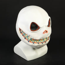 Load image into Gallery viewer, Halloween Jack Skellington Skull Luminous Mask Latex Adult Nightmare Before Christmas Mask Unisex Halloween Party Prop - bfjcosplayer