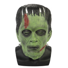 Load image into Gallery viewer, Frankenstein Mask Latex Scary Horror Halloween Party Masks Adult Costume Cosplay Props - bfjcosplayer