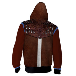New Dying Light 2 Hoodie Cosplay Costume Sweatshirt Hooded Adult Coat Man Top Prop Halloween Costumes - bfjcosplayer