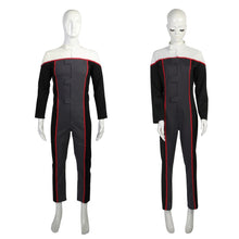 Load image into Gallery viewer, Cosplay Star Trek Voyager Racing Suit Jumpsuit Drive Costumes Women Full Set Man Woman Costume Halloween Party Prop - bfjcosplayer
