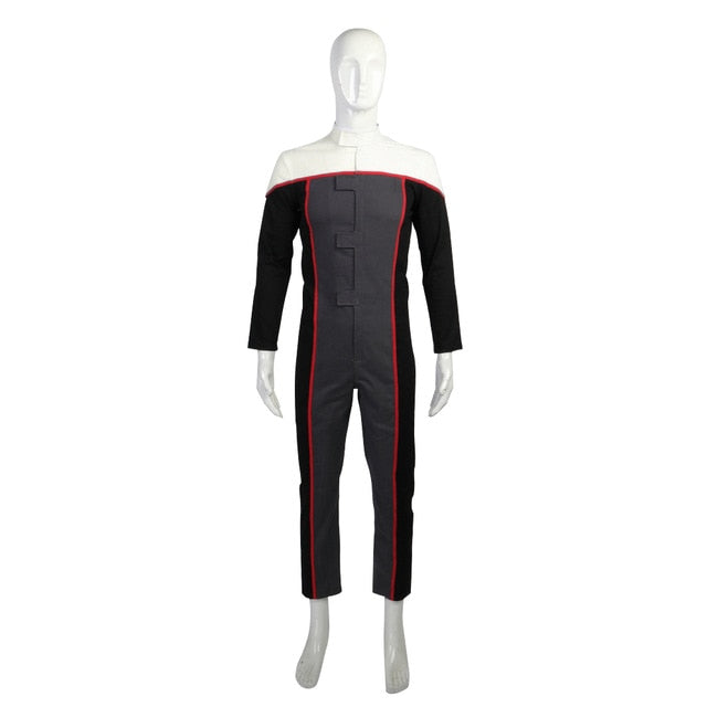 Cosplay Star Trek Voyager Racing Suit Jumpsuit Drive Costumes Women Full Set Man Woman Costume Halloween Party Prop - bfjcosplayer