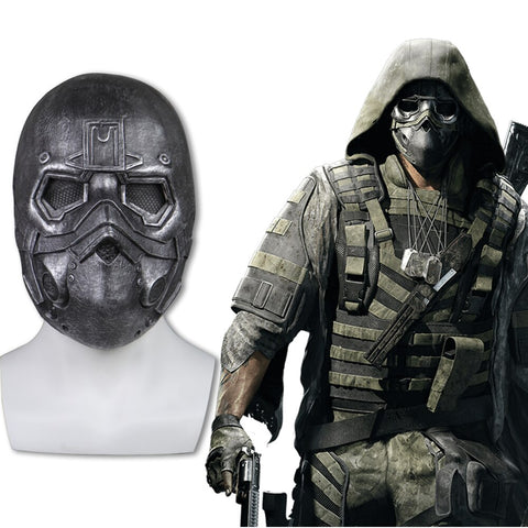 Tom Clancy's Ghost Recon Breakpoint Mask Latex Cosplay Cole D Walker Mask Halloween  Masks Helmet Adult Props - bfjcosplayer
