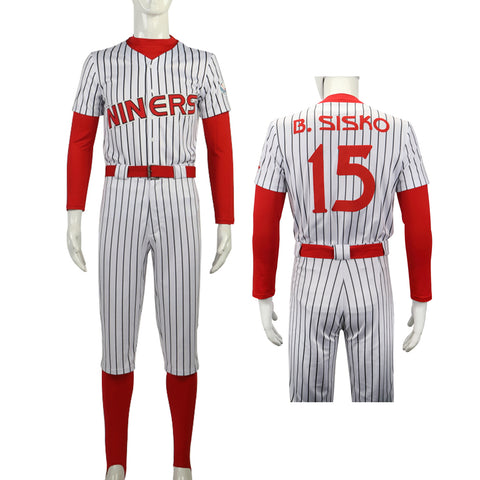 Star Trek Deep Space Nine Cosplay Costume Men 15 Sisko The Niners Baseball Outfit Pants Full Set New Halloween Costumes Party