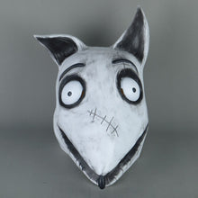 Load image into Gallery viewer, New Frankenweenie Mask Cosplay Sparky Masks Animal Dog Mask Halloween Party Scary Prop - bfjcosplayer