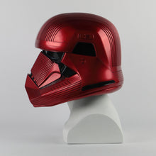 Load image into Gallery viewer, Star Wars 9 The Rise of Skywalker Sith Trooper Red Helmet Cosplay Halloween Star Wars Helmets Mask Prop - bfjcosplayer