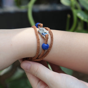 The Last of Us 2 Part II Ellie Dina Bracelet Devil's Eye Blue Beads Bracelet Game Accessories New - bfjcosplayer