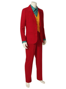 2019 joker Costume Cosplay Joaquin Joker Suit Uniform Halloween Party Fancy Dressed Men Kids Adult - bfjcosplayer