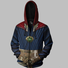Load image into Gallery viewer, New Doctor Strange Costume Hoodies Sweatshirt Marvel Hero Steve Cosplay Hooded Jacket Coat Men Tops Zipper 3D Print - bfjcosplayer
