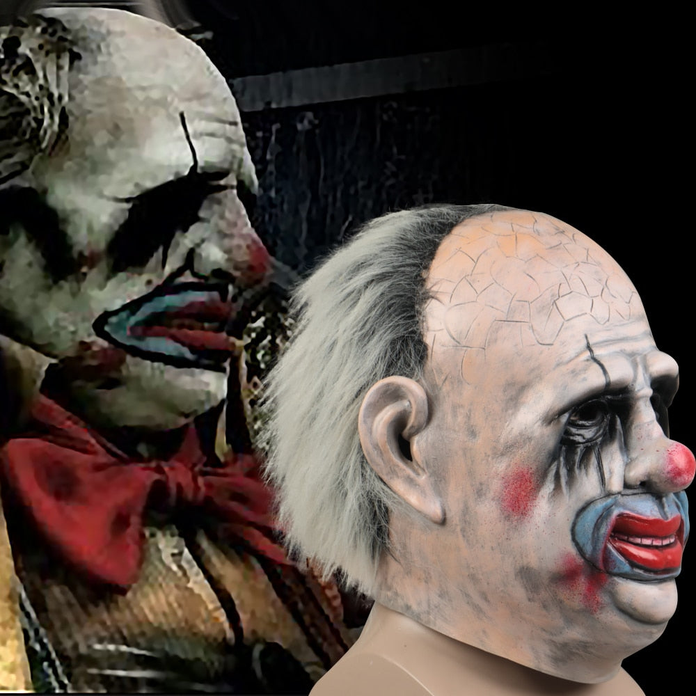 Dead By Daylight The Clown Kenneth Chase Mask Trapper Halloween Joker Mask Props - bfjcosplayer