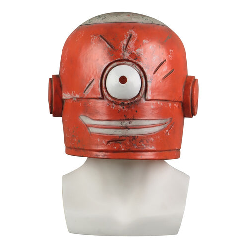 Smiling Nabler Guy MARLON Cosplay Latex Helmet Halloween Party Prop - bfjcosplayer