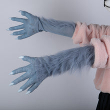 Load image into Gallery viewer, Anime BEASTARS Legoshi The Wolf Costumes Face Mask Gloves Tail Cosplay Animal Wolf Masks Masquerade Costume Props - bfjcosplayer