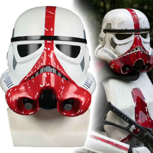 Star Wars Helmets The Black Series Incinerator Stormtrooper Cosplay Helmet Hard PVC Mask Star Wars Masks Props - bfjcosplayer