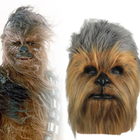 Star Wars Cosplay Chewbacca Mask Head Masks Halloween Party Costume Prop - bfjcosplayer
