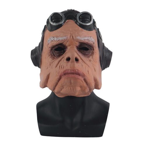 Cosplay Star Wars The Mandalorian Ugnaught Quill Pig Mask Full Face Party latex Mask Halloween Party Prop - bfjcosplayer