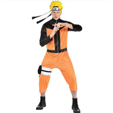 Load image into Gallery viewer, Naruto Cosply Costume Naruto Clothes Party Halloween Costumes Uzumaki Naruto NARUTO Men Coat Pants Prop - bfjcosplayer
