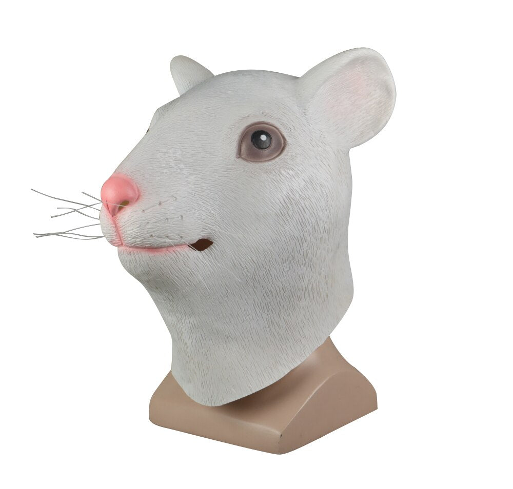 Animal Mask Cosplay Mouse Yellow Mask Animals Rat Masks Masquerade Halloween Party Funny Dressed Costume Prop - bfjcosplayer