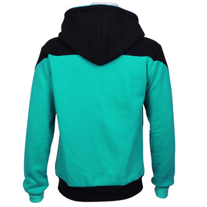 New Fashion Star Trek Hoodies Cosplay Star Trek Jackets Zipper Sweatshirts Coat Halloween Christmas Gift - bfjcosplayer