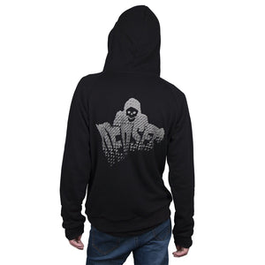 Hot Game Watch Dogs 2 Catcher Hoodies 100% Cotton Man Sweatshirts Black Cosplay Jackets Zipper Halloween Party - bfjcosplayer