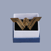 Load image into Gallery viewer, 2017 Movie Wonder Woman Badge Justice League Superhero Diana Prince Metal Brooches Pin Halloween Cosplay Accessories Prop Woman - bfjcosplayer
