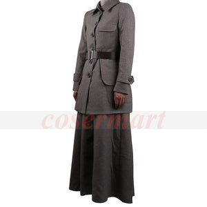2017 Movie Wonder Woman Superhero Costume Cosplay Diana Prince Suit Uniform Clothes Wool Woman Adult Halloween - bfjcosplayer